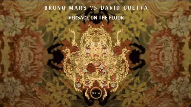 Bruno Mars Vs David Guetta – Versace on The Floor