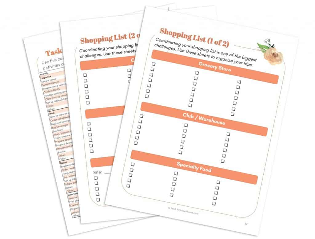 Party Planning Printables You Need In Your Life Free