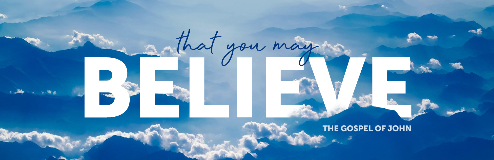 That You May Believe - Web - Message Header