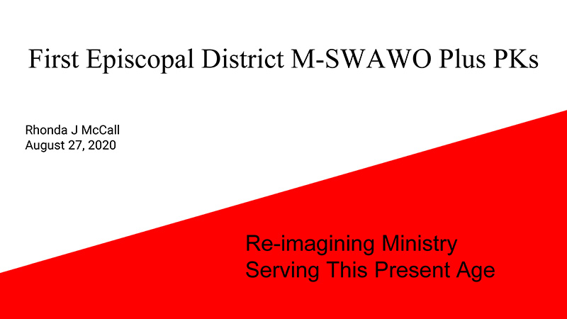 M-SWAWO Plus PKs Re-Imagining Ministry