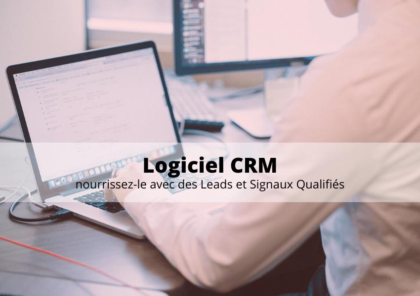 Logiciel CRM (Sellsy, Eudonet, Salesforce, Hubspot, Microsoft Dynamics…), comment l'enrichir ?