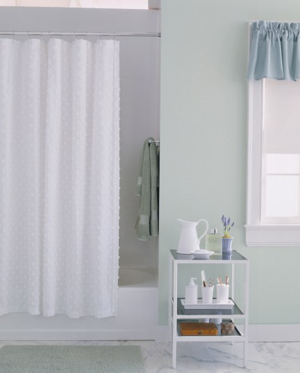 https www firstforwomen com posts home this is how often you should be cleaning your shower curtain liner 91250