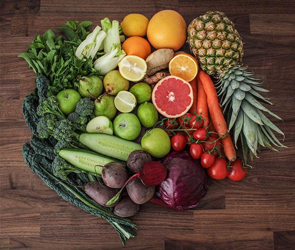 juicing veg