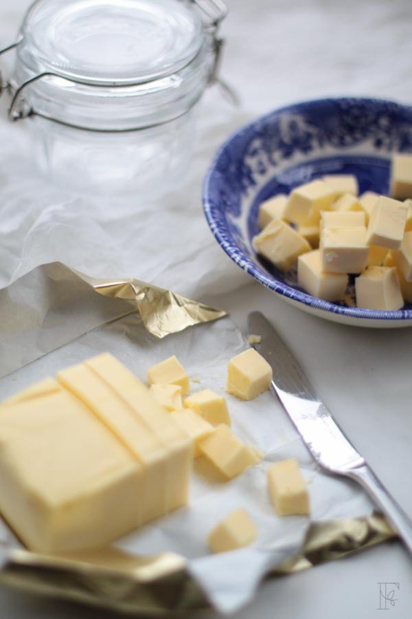 Grass fed butter for making ghee