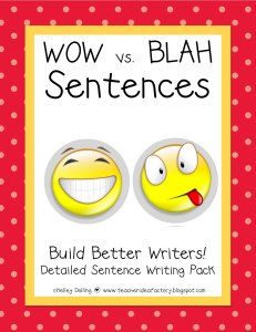 Wow vs. Blah sentences