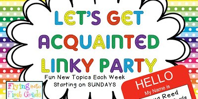 Let's Get Acquainted Linky Party
