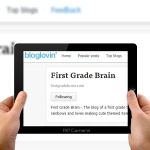 First Grade Brain Blog Lovin'