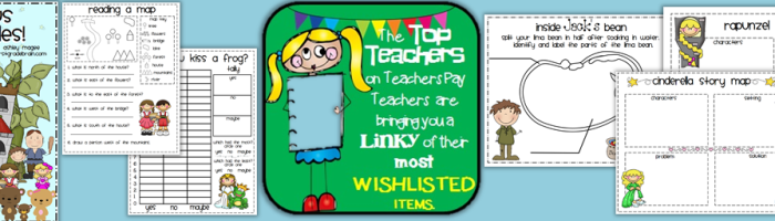 Most Wishlisted on TeachersPayTeachers