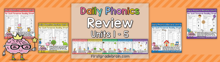 Daily Phonics Review – Complete Set Finished