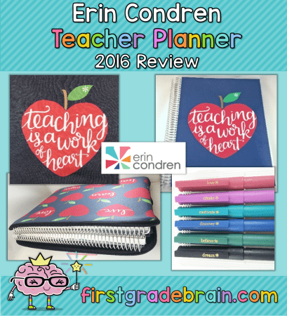 Erin Condren Teacher Planner review