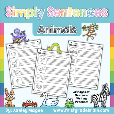 simply sentences animals