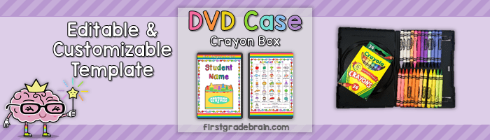 Classroom Crayon Storage for Students – DVD Cases!