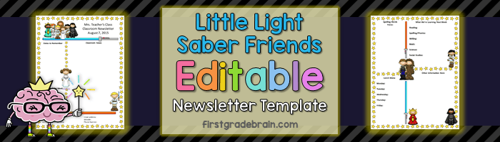 Little Light Saber Friends Newsletter – May the 4th Be With You!