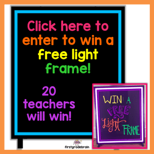 Enter to win a free light frame!