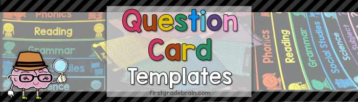 Question Cards – Editable Templates