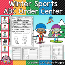 Winter Sports ABC Order