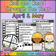 Roll and Read Through the Year: April and May