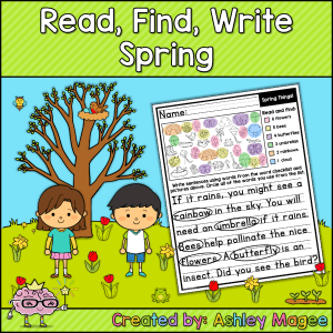Read Find Write Spring