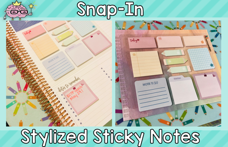 Erin Condren Snap-In Sticky Notes