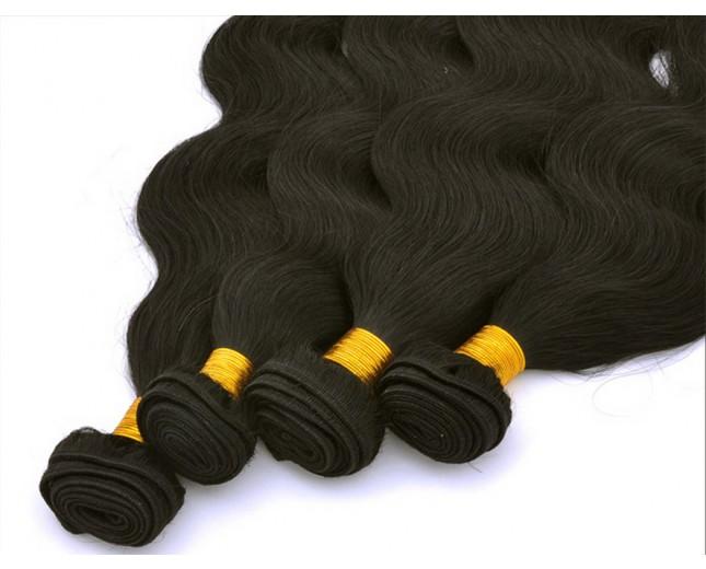 Body Wave Pattern AAAAA Grade Chinese Unprocessed Hair