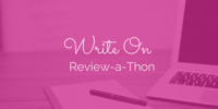Write On Review-a-Thon September 2015