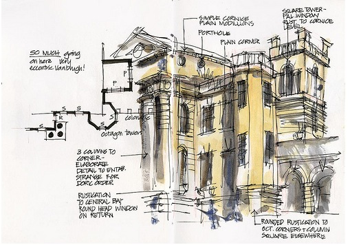 7 ways to improve your sketching skills first in for Architecture quattrocento