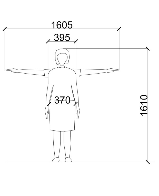 Standard Female Dimensions