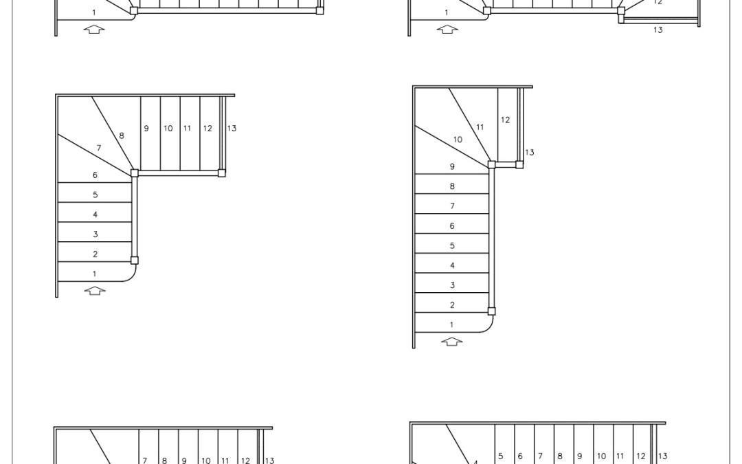 Free CAD Blocks – Stairs 01
