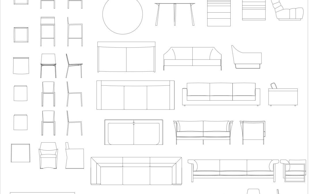 CAD Blocks – Furniture Pack 02