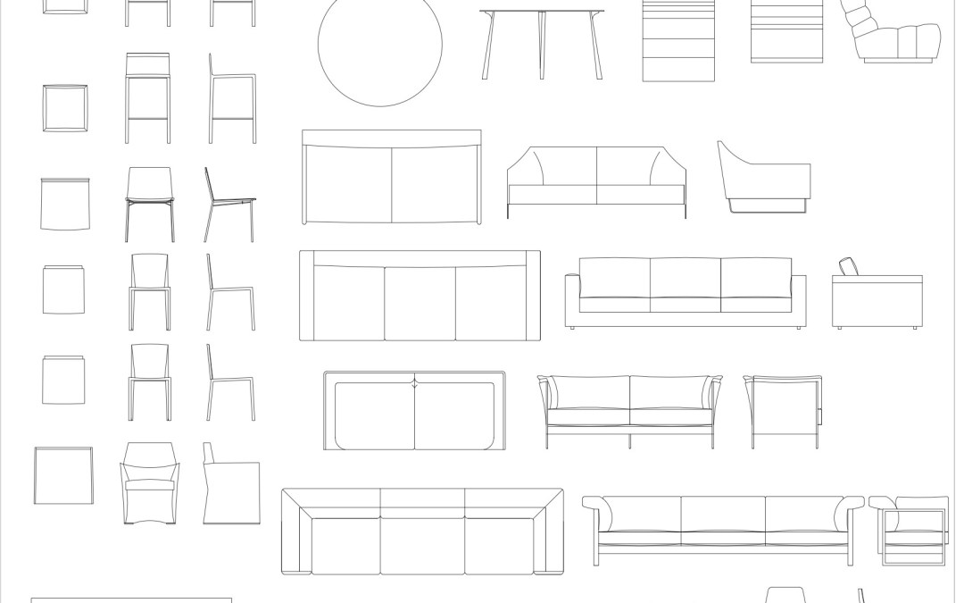 CAD Blocks – Furniture Pack 02