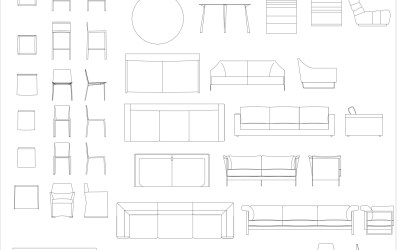 CAD Blocks – Furniture Mega Pack Bundle