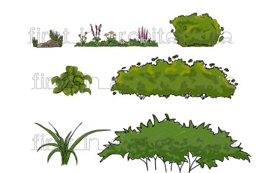 Sketch Up Components – Sketchy Plants and Shrubs
