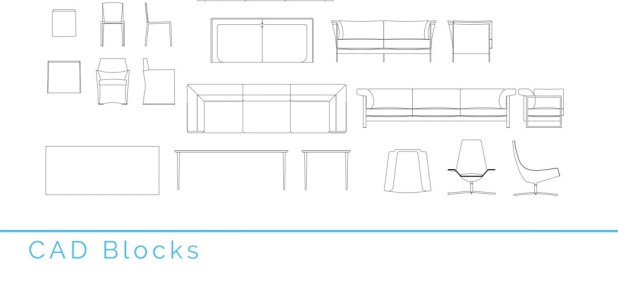 cad blocks - first in architecture
