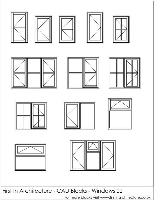 FIA CAD Blocks Windows 02