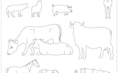 Free CAD Blocks – Animals