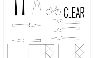 Free CAD Blocks – Car Parking Symbols