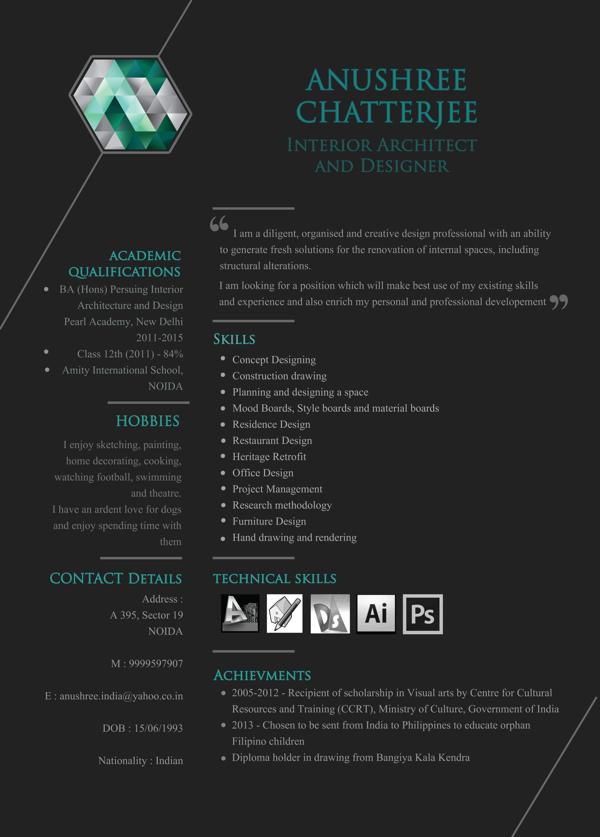 Architects Resume Vaydileforic
