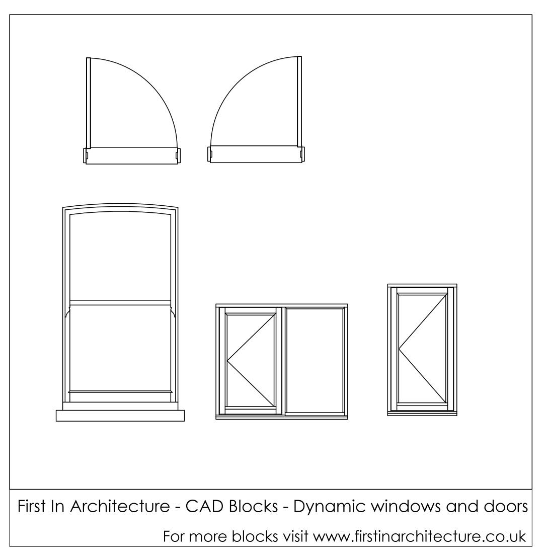 Collection sliding door plan cad block pictures woonv for Sliding glass doors in plan