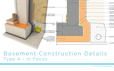 Basement Construction Details – Type A