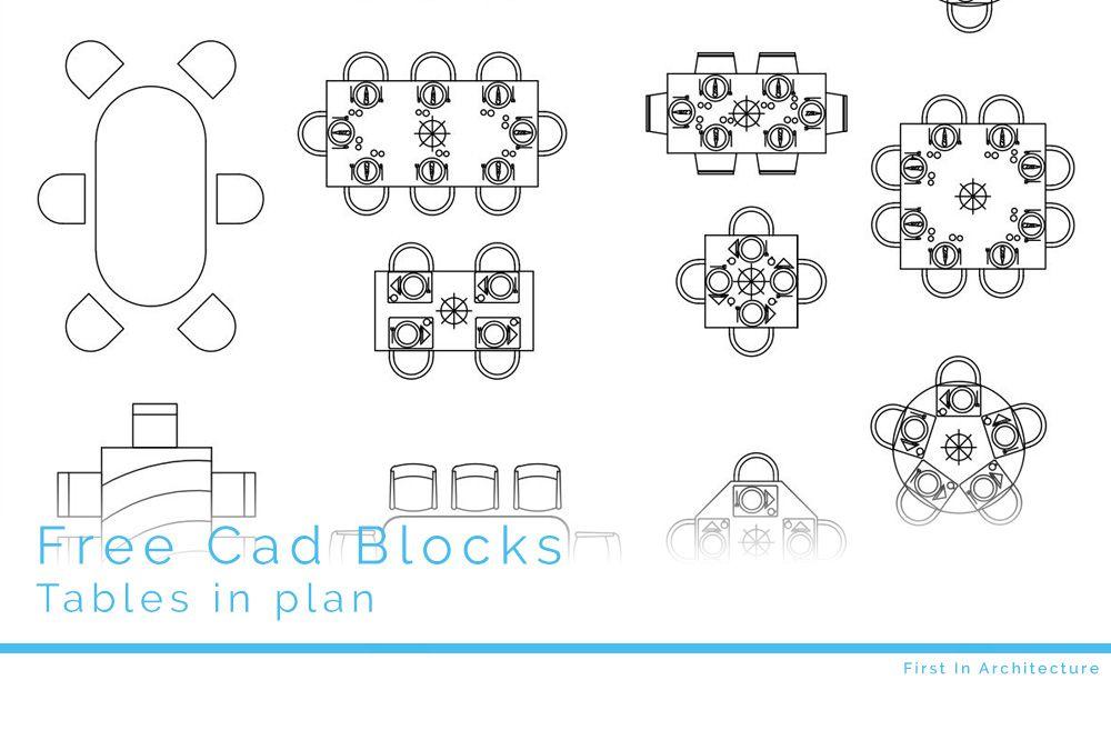 Outdoor Furniture 2d Cad Blocks
