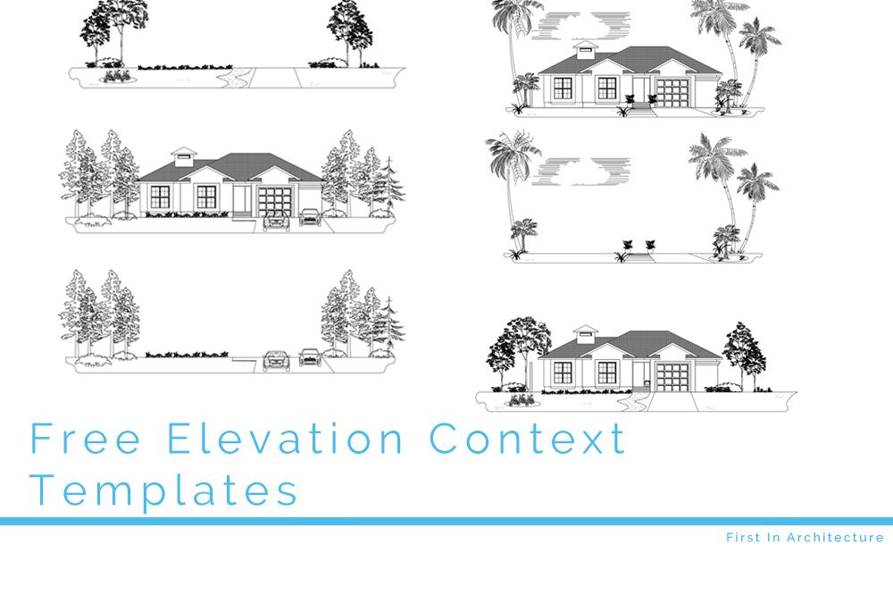 Free CAD Blocks – Elevation Context