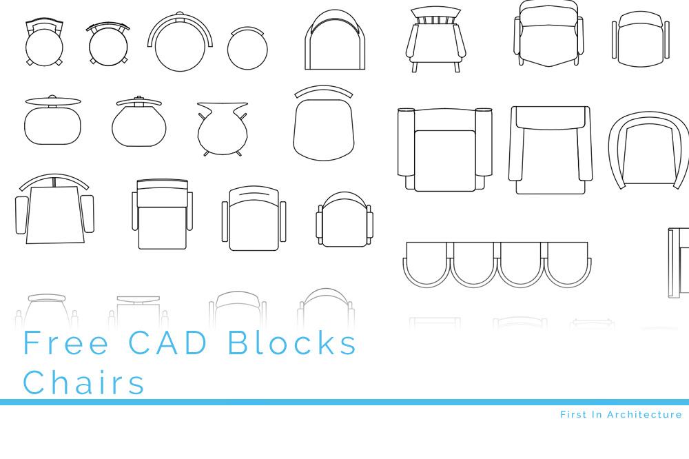 Free CAD Blocks – Chairs