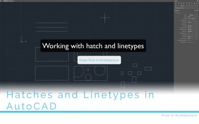 Working with Hatch and Linetypes in AutoCAD