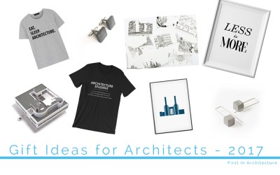 Gift Ideas for Architects Christmas 2017