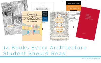 14 Books Every Architecture Student Should Read