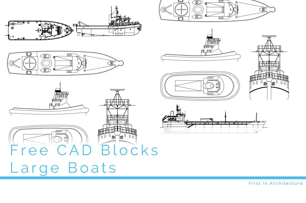 Free CAD Blocks – Ships 2