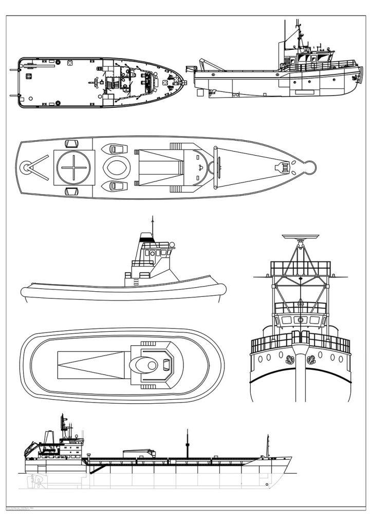 FIA CAD Blocks Boats and Ships 2