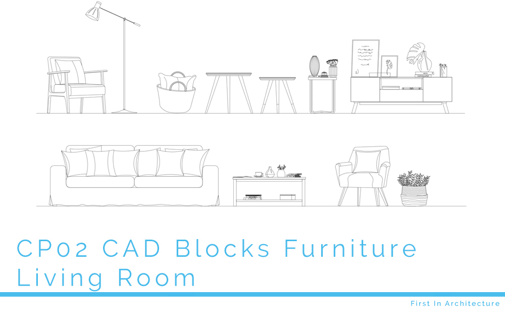 CP02 CAD Blocks Furniture