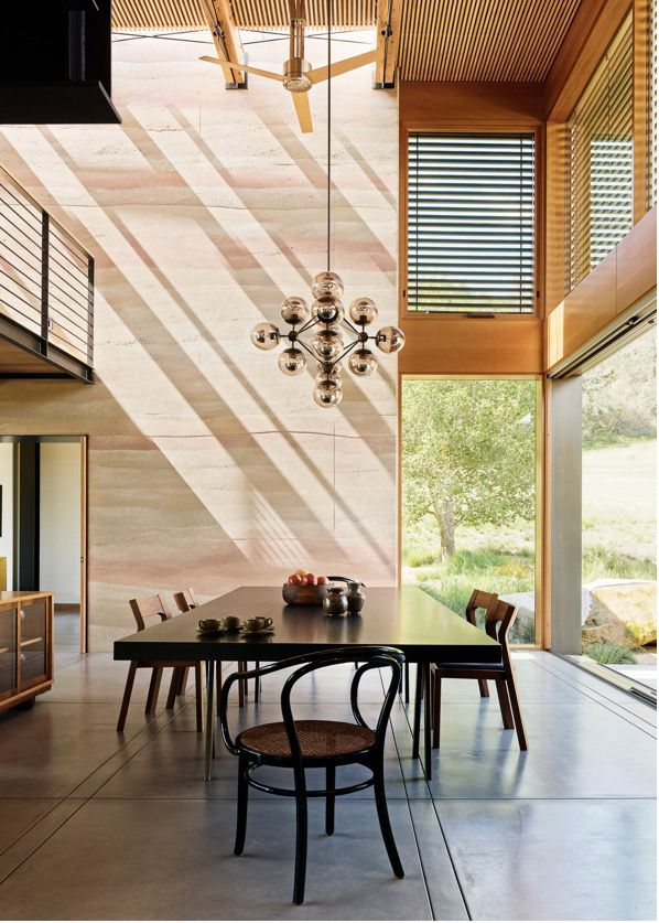 Feldman architecture rammed earth house