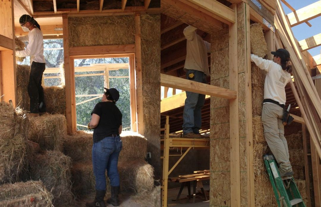 what does rammed earth look like?
